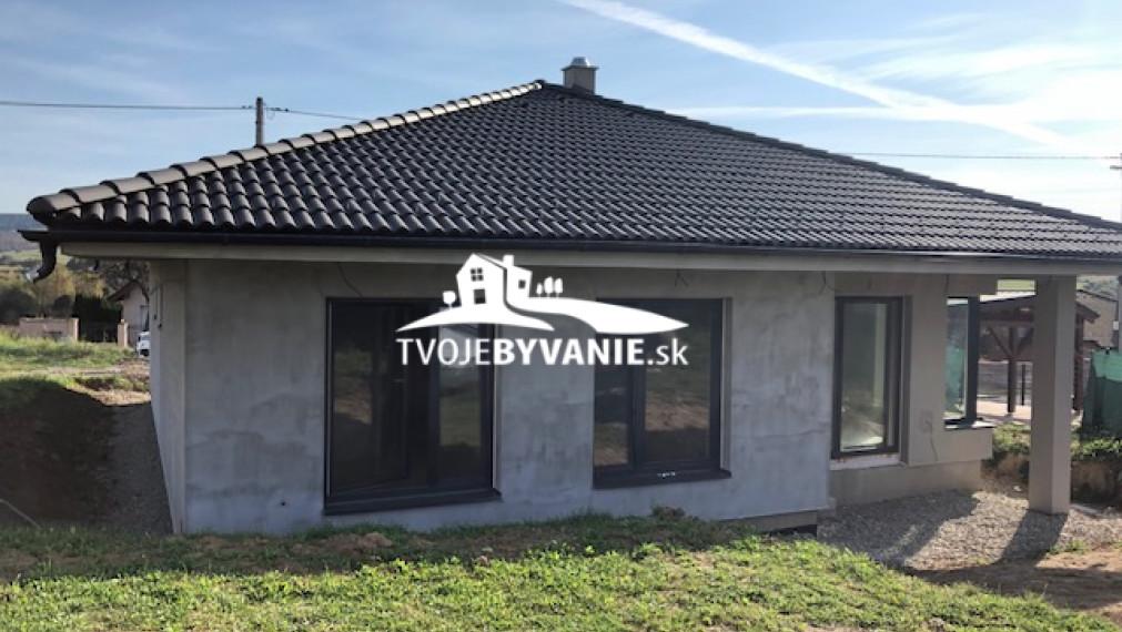 Ponúkame na predaj novostavbu -bungalov v Šarišských Bohdanovciach