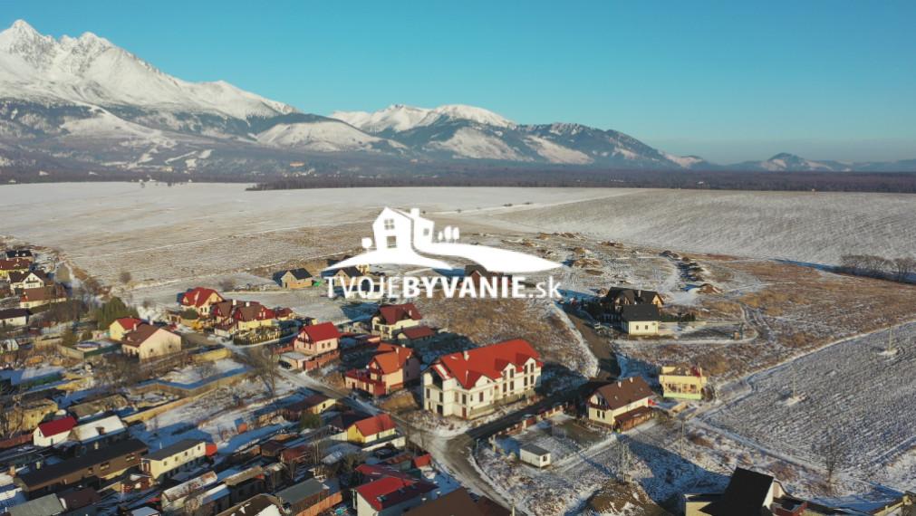35 voľných stavebných pozemkov z 38 v Starej Lesnej Vysoké Tatry