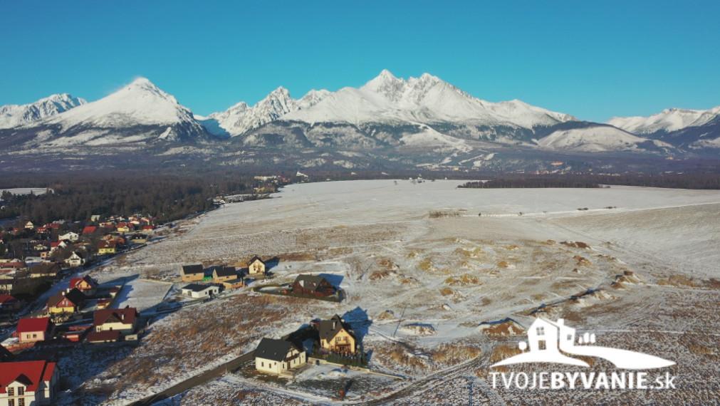 Stavebný pozemok na predaj A12 v Starej Lesnej, Vysoké Tatry