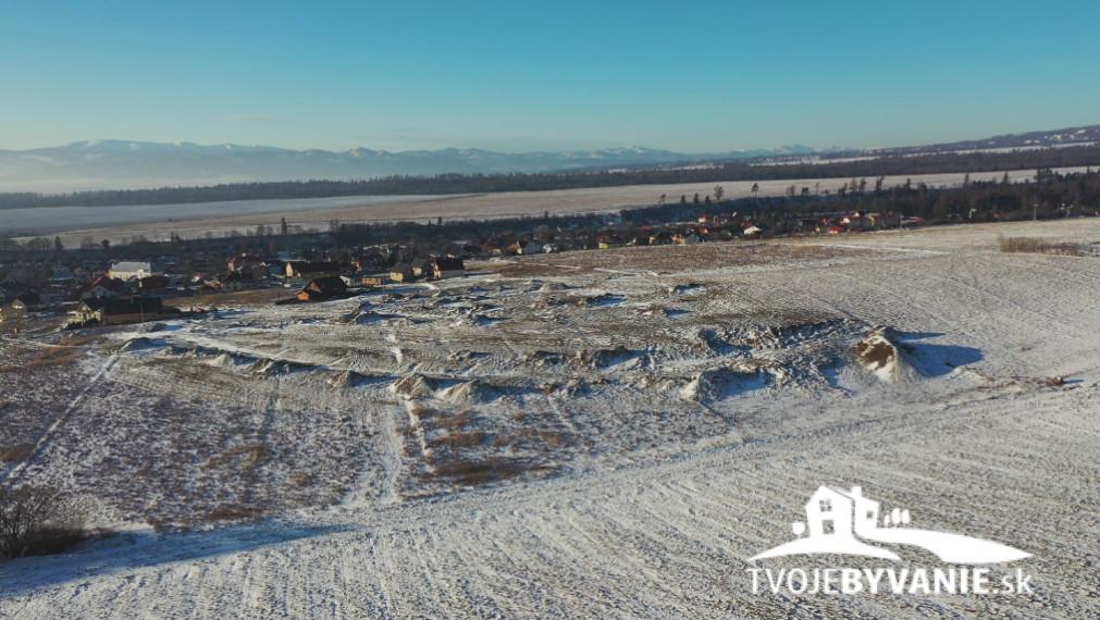 Stavebný pozemok na predaj A24 v Starej Lesnej, Vysoké Tatry