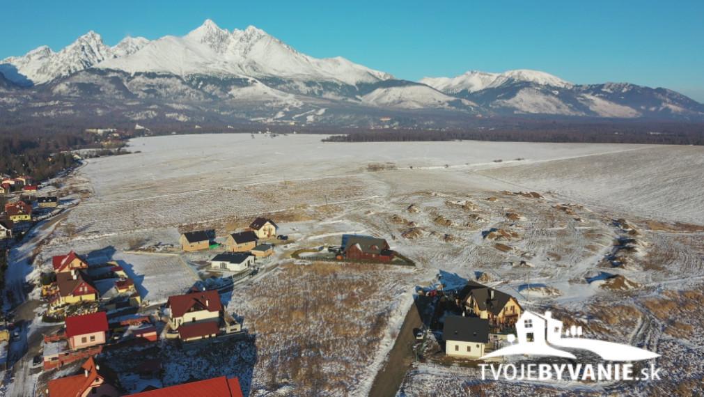 Stavebný pozemok na predaj A26 v Starej Lesnej, Vysoké Tatry